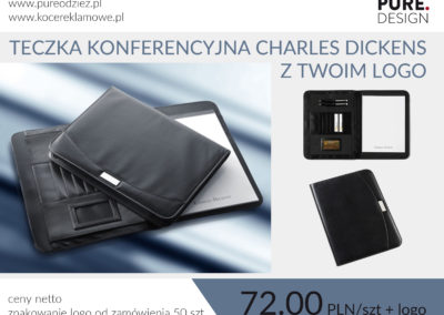Teczka konferencyjna Charles Dickens