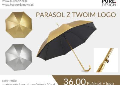Parasol Złoty, Srebrny