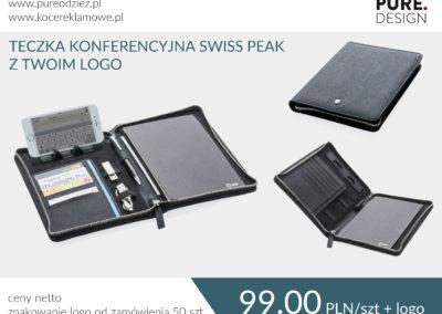 Teczka konferencyjna Swiss Peak